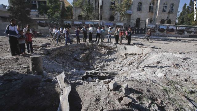 Showdown in Syria