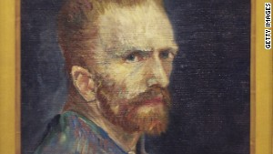In this self portrait, Vincent van Gogh distorts his own face with his signature style, which may increase its appeal.