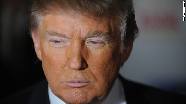 Celebrity mogul Donald Trump says he is