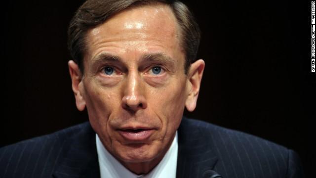 David Petraeus was sworn in as CIA director in September 2011.