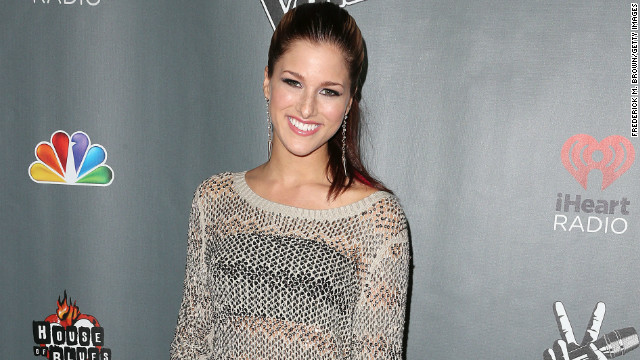 Cassadee Pope attends 'The Voice' Season 3 Red Carpet Event at The House of Blues Sunset Strip in November.