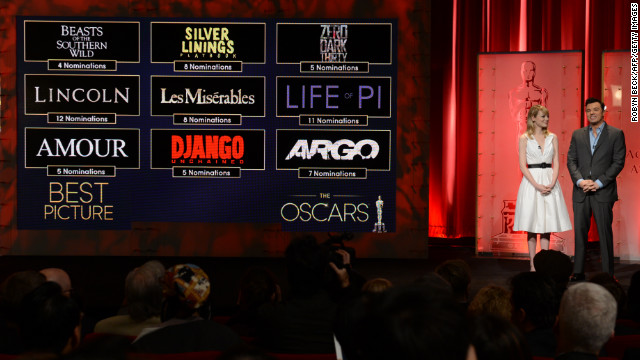 Academy Awards: Who's nominated?