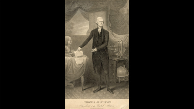Thomas Jefferson was inaugurated for his first term on March 4, 1801.
