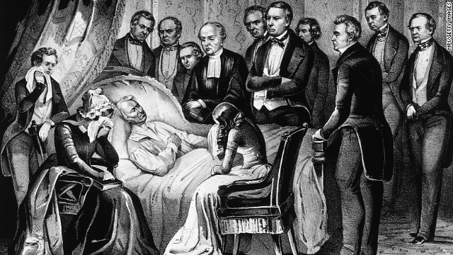 Millard Fillmore was sworn in on July 10, 1850, after the death of President Zachary Taylor.