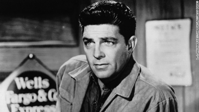 Actor Dale Robertson is best remembered for his portrayal of Jim Hardie in the TV series Tales of Wells Fargo.