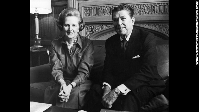 Photos: Thatcher and Reagan's friendship