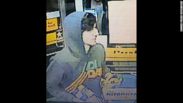 Tsarnaev was caught on a convenience store surveillance camera video that was released by Boston Police Department on April 19.