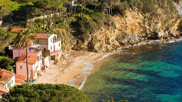 74. Capo Sant'Andrea, Elba, Italy