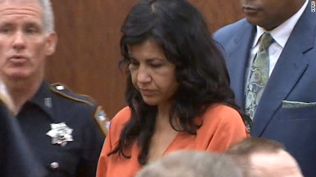 Ana Lilia Trujillo appeared in court on Tuesday, June 11. Trujillo is charged with murder in the death of Dr. Stefan Andersson, a 59-year-old University of Houston professor.