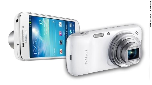 Samsung lanza un teléfono-cámara