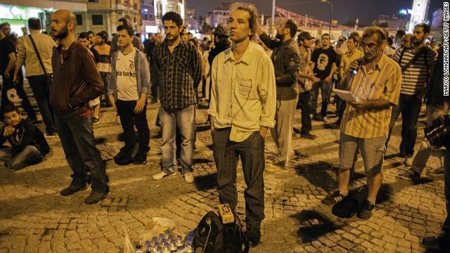 Photos: Demonstrations in Turkey