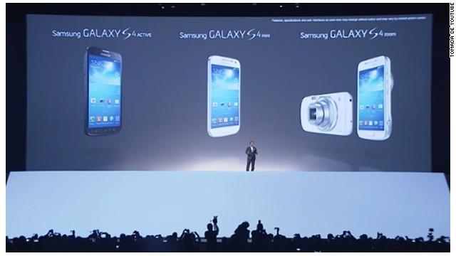 """Samsung revela el Galaxy S4 mini y nuevos """"smartphones"""""""