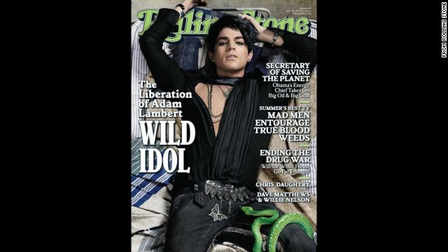 Rolling Stone's June 25, 2009, cover.