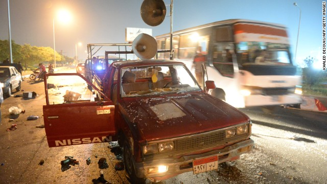 Photos: Unrest in Egypt