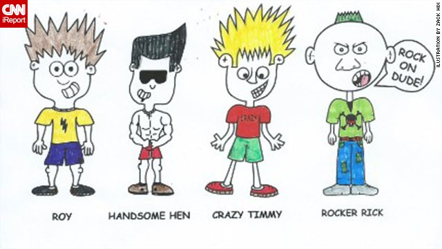 Zack Hix, 18, is the creator of the Good Boy Roy cartoon characters. Zack was diagnosed with a range of mental disorders, and his family believes his drawings provide an important outlet.