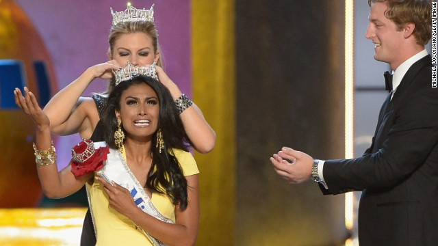Nina Davuluri was crowned 2014 Miss America on September 15 in Atlantic City, New Jersey. Then came the hate on Twitter.