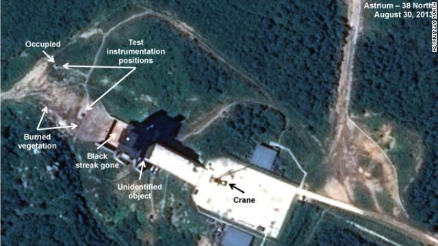 Photos show North Korea likely testing more rocket engines