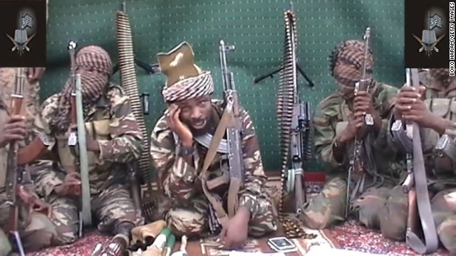 A video of Abubakar Shekau, who claims to be the leader of the Nigerian Islamist extremist group Boko Haram, is shown in September 2013. Boko Haram is an <a href='http://www.cnn.com/2014/02/27/world/africa/nigeria-year-of-attacks'>Islamist militant group waging a campaign of violence</a> in northern Nigeria. The group's ambitions range from the stricter enforcement of Sharia law to the total destruction of the Nigerian state and its government. Click through to see recent bloody incidents in this strife-torn West African nation: