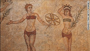An ancient Roman bikini catalogue? \