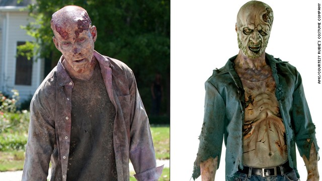 "... Or decomposing zombie from the hit AMC show ""The Walking Dead?"" Take your pick."