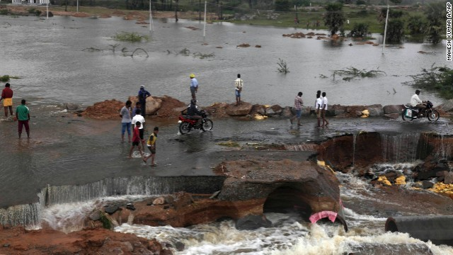 flooding ODISHA east india oct 2013