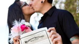 Darren and Sheena Thomas eloped this summer.