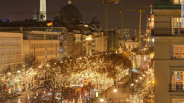 If you're lacking ornaments on your Christmas tree, Berlin is a good place to stock up. There are more than 60 Christmas markets.