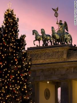 Árbol de Navidad de la Puerta de Brandeburgo, Berlín