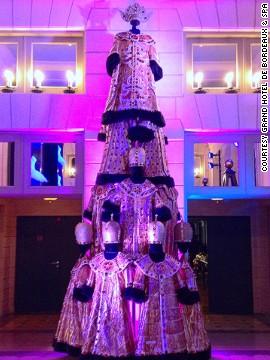 Árbol de Navidad Ópera, Francia