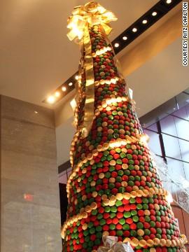 Árbol de Navidad de macarrones, Estados Unidos