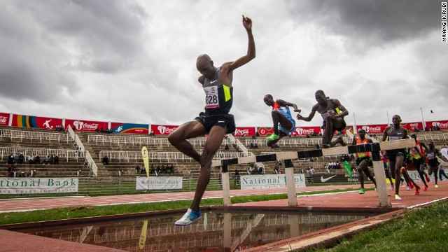 """Mwangi Kirubi said:' """"Kenya's athletics team has always galvanized the nation behind our national colors. Whenever they take to the track, we forget our differences and remember we are one."""""""