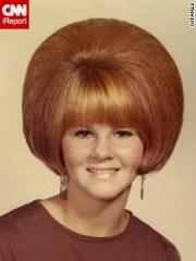 lost art of mom's retro hairdo