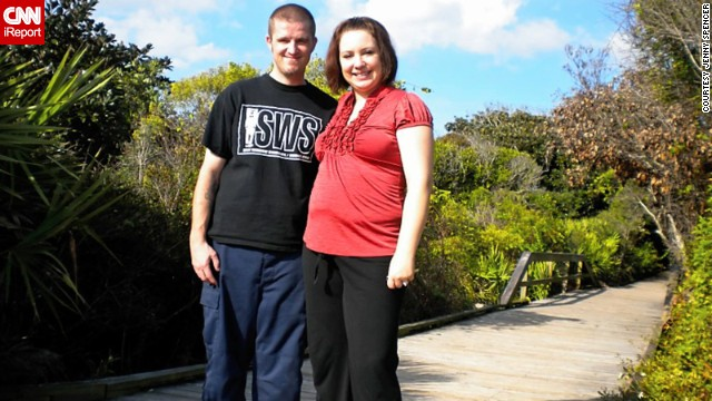 Jenny Spencer, 33, started gaining weight early in life. But it wasn't until her now ex-husband Jeff started having chronic health issues that she really put her own health on the back burner.