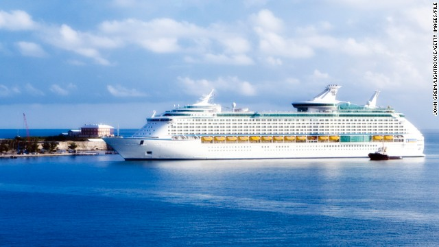 Royal Caribbean's Explorer of the Seas cruise ship is picutred in a 2007 file photo.