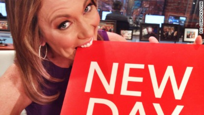 Brooke Baldwin New Day sign