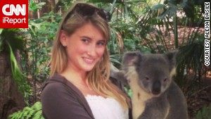 Alexa Basile traveled to Australia for her study-abroad trip.