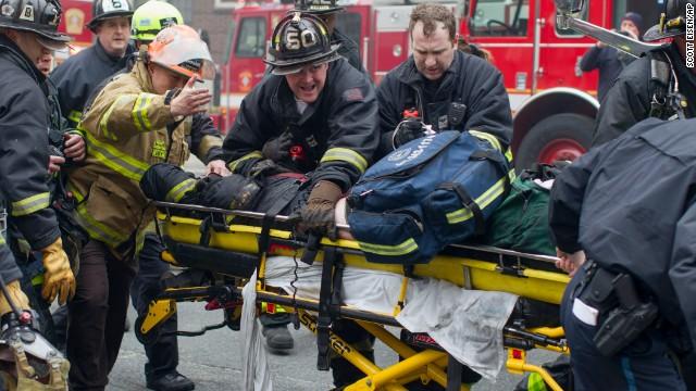 Photos: Nine-alarm fire in Boston