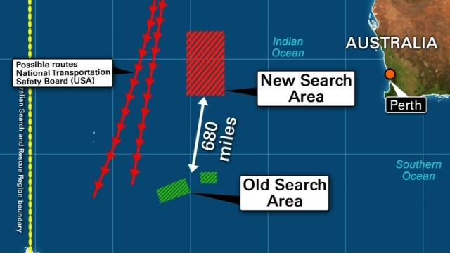 Malaysia Airlines Flight 370: New Search Area, Rugged Deep