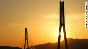 Tatara is one of the world\'s longest cable-stayed bridges.