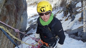 Weidlich eventually had to abandon her summit attempt.