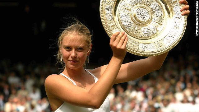 She arrived as the underdog, and left with a Wimbledon championship. It's 10 years since 17-year-old Maria Sharapova defeated Serena Williams in that final. It would be her first of five grand slam victories.