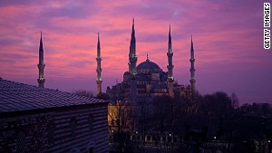 Istanbul: An enchanting combination of geography and color.