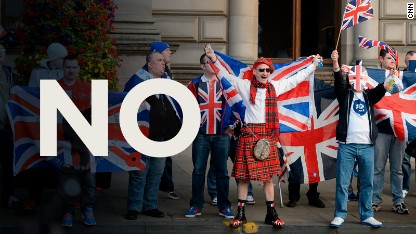 Scotland votes to stay with UK