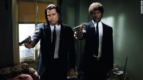 Samuel L. Jackson & John Travolta schitteren in Pulp Fiction