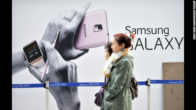 Samsung Electronics jumped up one spot compared to last year, after it managed to add 15% to its brand value.