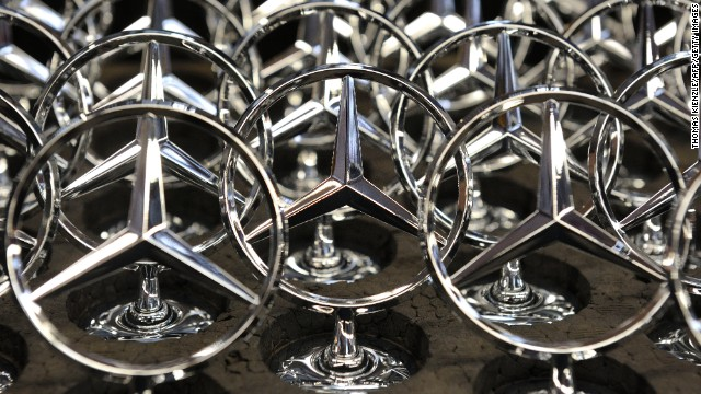 Mercedes-Benz saw an 8% increase in its brand value.