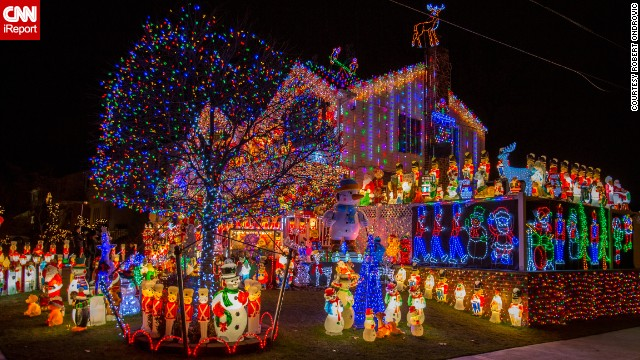 Star Wars Themed Light Show And Other Christmas Magic