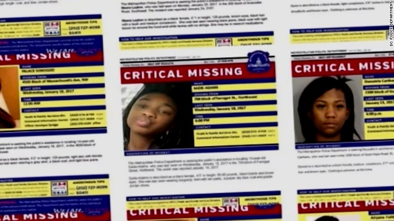 Image result for missing black girl in dc
