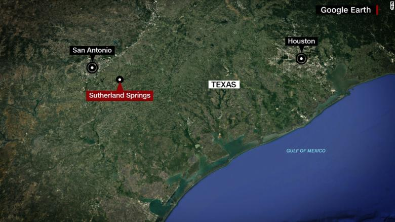 Image result for map of sutherland springs, texas
