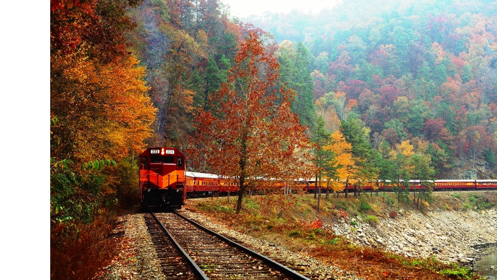 Gatlinburg In The Fall Wallpaper Five Fabulous Fall Foliage Train Rides Cnn Com